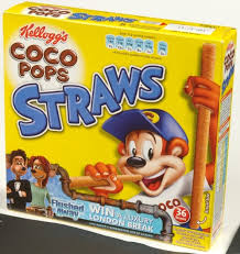coco pops straws flushed competition photo