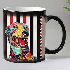 Coffee Magic dropshipping 19 designs dogs color changing magic mugs cup ceramic