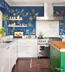 kitchen backsplash wallpaper ideas blue and white kitchen wallpaper morespoons eed73aa18d65
