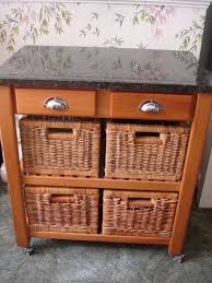 kitchen trolley island wood and granite kitchen trolley island storage unit on castors