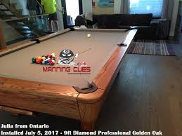 width of a 7 foot pool table professional pool table