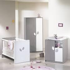 chambre bébé blanc et gris sauthon on line leaf frêne gris et blanc lit bébé têtes panneaux