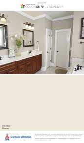 Paint Color Ideas For Bathrooms Sherwin Williams Downy Sw 7002 Lucille Pinterest Room