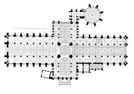 Medieval Cathedral Floor Plan Catedral De York Planta De Tipo Cruciforme Siglo Xiv Arq