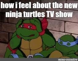Ninja Turtle Meme - create meme teenage mutant ninja turtles it s a fucking disgrace