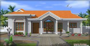 4 bedroom single floor house plans kerala style