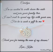 Wedding Gift Necklace Mother In Law Wedding Gift Mother Of The Groom Gift Mother