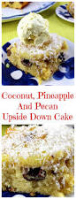 coconut pineapple and pecan upside down cake lovefoodies
