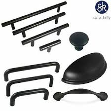 kitchen cabinet knobs black and white swiss hardware matte black kitchen cabinet handles