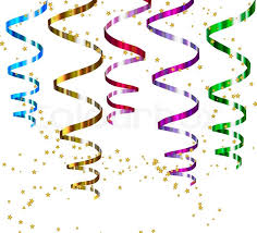 party streamers party streamers vector stock vector colourbox