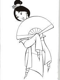 mulan disney princess coloring print disney coloring