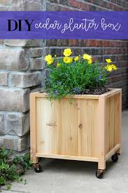 How To Make Planter Boxes by How To Build A Sturdy Diy Planter Box Life Storage Blog