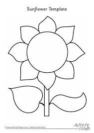 25 unique flower template ideas on pinterest free paper flower