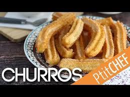 churros hervé cuisine recette de churros croustillants et légers ptitchef com