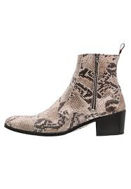 jeffery west manero cowboy biker boots beige men cowboy