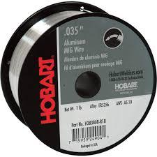 hobart mig welding wire u2014 er5356 aluminum 035in 1 lb spool
