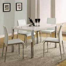 White Gloss Extendable Dining Table Extendable Dining Tables And 4 Chairs Dining Room Ideas