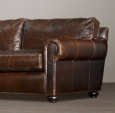 Leather Blend Sofa 84 Lancaster Leather Sofa Exceptionally Luxurious At Nearly 4
