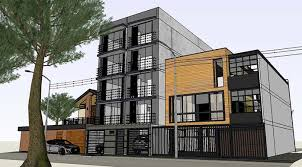sketchup texture free sketchup 3d model multifamily house 43