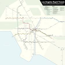 Metro Map Los Angeles by The Measure M Mandate Urbanize La