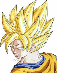 son goku liberty spikes hair style dragon ball u2013 cool men u0027s hair