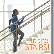 take the stairs 7 moves for a 30 minute stair workout diabetic