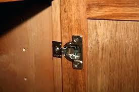 Hinges For Kitchen Cabinet Doors How To Install Cabinet Hinge Overlay Cabinet Door Partial Wrap