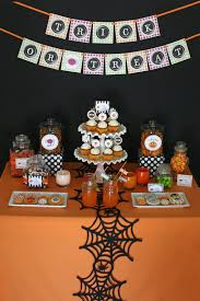 decorating spectacular halloween table decoration feature