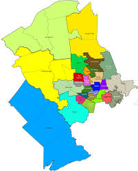 houston map districts home sam houston area council