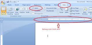 cara membuat garis pada daftar isi makalah tips membuat titik titik pada halaman daftar isi secara rapih