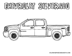 chevy coloring pages
