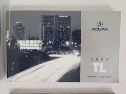 2004 acura tl owners manual guide book ebay