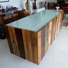 Rustic Reception Desk Buy A Handmade 11 Assorted Reclaimed Red Wood Reception Desk