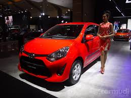 international toyota indonesia 2017 toyota id brings updated toyota agya to the show