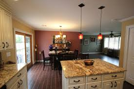 marvelous glass pendant lighting for kitchen islands in home