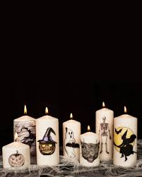 how to make decorative diy halloween candles u2014 apartment therapy