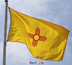 Spanish Flag Circle New Mexico Flag Colors New Mexico Flag Meaning