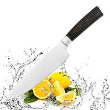 german steel kitchen knives onme professional chef s knife 8 inch german steel kitchen knife