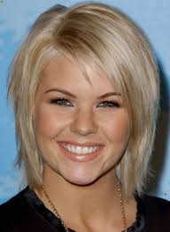short hairstyles for curly hair with bangs popular long