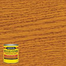 Minwax  Oz Wood Finish Colonial Maple OilBased Interior Stain - Interior wood stain colors home depot