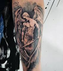mens forearms handsome guardian tattoosformenideas