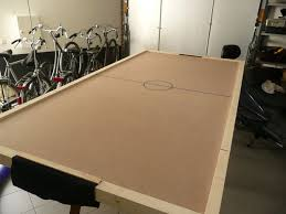Halex Hockey Table Diy Air Hockey Table 8 Steps With Pictures