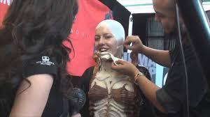 theater makeup school cinema makeup school at of monsterpalooza 2013