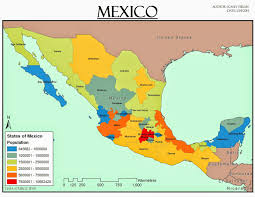 The Map Of Mexico by Kasey U0027s Gis Adventure Gis Cartography Lab Week 3