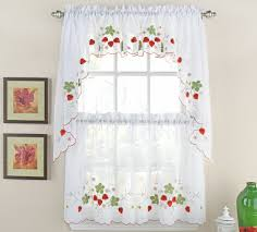 Curtain For Kitchen Window Decorating Decorating Kitchen Window Curtains Yellow Tier Curtains Bright