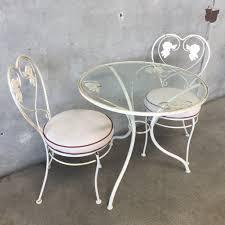 Vintage Bistro Table Vintage Bistro Table U0026 Chair Set U2013 Urbanamericana
