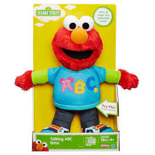 playskool sesame street talking abc elmo figure walmart