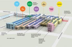hã llen design de hallen the rehabilitation of a large covered space in a
