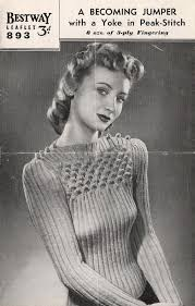 1018 best knitting vintage images on vintage