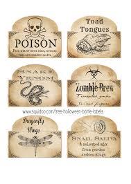 printable halloween specimen jar labels free printable halloween bottle labels potion labels halloween